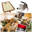 Cat Kitten Scratch Board Scratching Mat Pad With Catnip