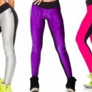 Sweat AB Face Double Bright Color Yoga Running Workout Sports Pants