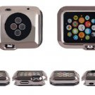 38MM Ultrathin Plated Plating TPU Protective Hard Case Cover For Apple Watch