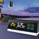 Cube Weather Forecast Clock Wireless Weather Station Smart Home Clock Wireless Weather Report