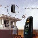 Weather Forecast Clock Wireless Weather Station LED Alarm Clock Wireless Weather Report