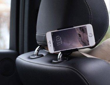 Holder Car Headrest Mount Bracket Holder Stand For Mobile Phone GPS