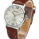 Casual Women PU Leather Strap Analog Wrist Watch