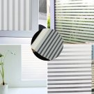 45x150cm Removable Frosted Window Sticker Glass Streak Sheet Casement Film