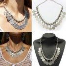 Tassel Statement Choker Necklace For Women