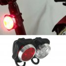 Cycling Bike Bicycle Light Flash Lamp Front Head Rear Light 3 LED USB Charging Light