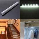 Wireless PIR Motion Sensor 6 LED Battery Powered Cabinet Light Home Stair Night Lamp