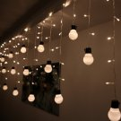 Colorful 48 LEDs 10 Bulbs Fairy Light String Wedding Xmas Party Decoration 110V
