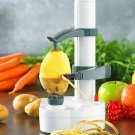 Electric Potato Peeler Automatic Pear Apple Fruit Cutter Slicer Kitchen Utensil