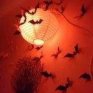 12pcs Halloween 3D Black Bat Wall Sticker Halloween Party Home Decoration