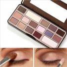 16 Color New Makeup Natural Waterproof Chocolate Bar Pattern Eyeshadow Palette