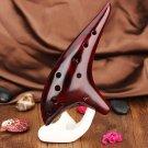12 Hole Alto C Tone Smoldering Professional Ocarina