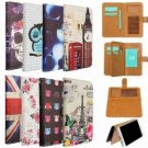 Flip PU Leather Wallet Card Cover Case Stand For Samsung Note 4