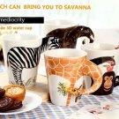 Animal Shape Coffee Milk Tea Mug Ceramic Water Cup Festival Birthday Gift