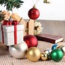 Multi-Color Christmas Xmas Tree Baubles Pendant Set Home Wedding Decorations DIY