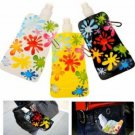 500mL Foldable Portable Reusable Sport Water Bottle Bag Bicycle Camping Hiking