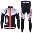 Unisex Outdoor Sports Bike Jersey Suit Cycling Bicycle Sportswear Riding Clothes
