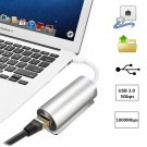 Aluminium Alloy USB 3.0 To RJ45 Gigabit Ethernet Lan Network Adapter
