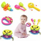 5Pcs Unisex Musical Instruments Roll Rock Toy Gift Set