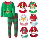 Christmas Kids Cotton Toddlers Suit Night Pajamas Sleep Bed Cloth