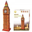 Carboard Jigsaw Model 3D Puzzle Big Ben DIY Toy