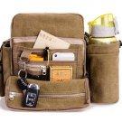 Men's PLUS Size Multifunction Canvas One-shoulder Business Casual Bag