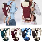 Baby Kids Carrier Mummy Backstraps Breathable Hip Seat Waist Belt Protection