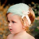 Flower Kids Hair Band Headband Rhinestone