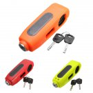 Motorcycle Scooters ATVs Brake Lever Security Anti-theft Lock with 2 Keys