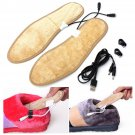 Foot Warmer Heater USB Charging Shoe Insoles Warm Shoes Pad