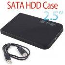 "Ultra Slim USB 2.0 2.5"" External Box Hard Disk Driver Case Enclosure"