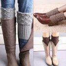 Women Crochet Knitted Leg Boot Cuffs Toppers Warmers Socks