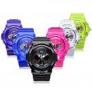 Sport Back Light Week Date Unisex Quartz Wrist Watch