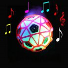 LED Light Jumping Ball Crazy Music Football Children's Toy