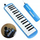 32 Keys Melodica Musical Instrument for Beginners w/ Carrying Bag