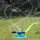 360 Degree Rotation Circular Lawn Sprinkler Yard Watering Heavy 3-Arm