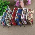 Women Owls Mini Coin Wallet Long Pattern Clutch Bag