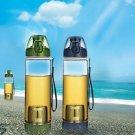 500ml Portable Infusing Water Bottle Leak Proof Outdoor Sport