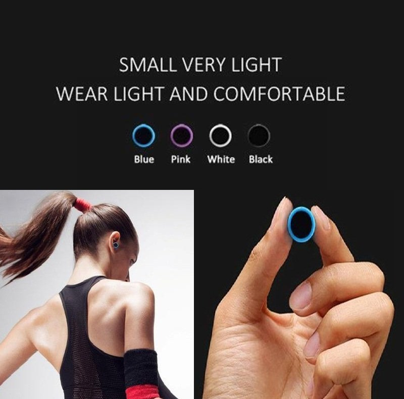 Wireless Bluetooth headphone Stereo Earbuds For Phone