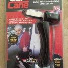 Portable Mobility Standing Aid Handle Seat Belt Cutter Glass Breaker Car Flashlight