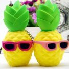 Squishy Hot Style Pineapple Fruit Squeeze Slow Rising Collection Phone Strap Relieve Soft Stress Toy