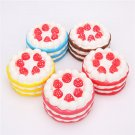 Squishy 10cm Jumbo Pink Yellow Red Coffee Blue Colorful Cake Slow Rising Collection Gift Decor Toy