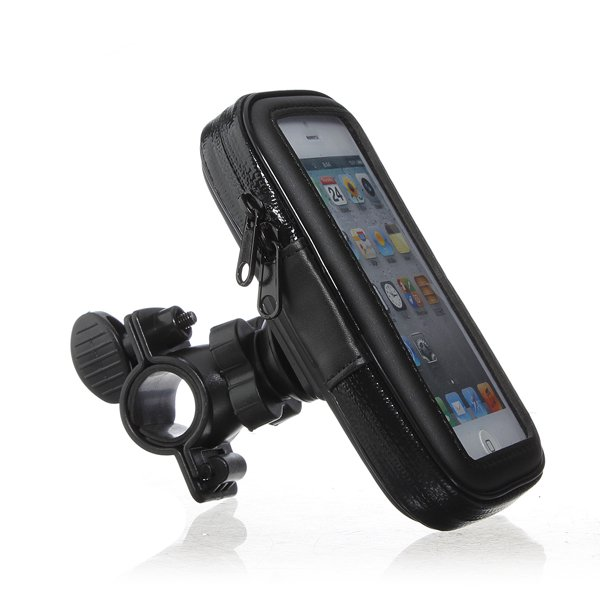 Bicycle Waterproof Phone Case Pouch Handlebar Mount Holder For iPhone 5/5s