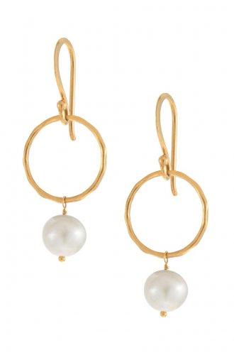garlicfashion special elegant women fashion Grace Pearl earrings