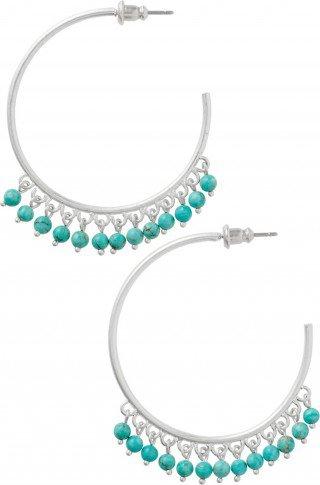 garlicfashion special elegant women fashion Wanderlust Fringe Hoop Earrings