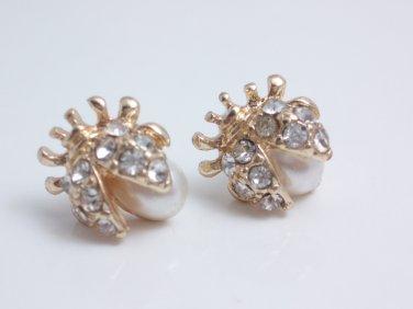 garlicfashion special elegant women fashion Ladybug earrings