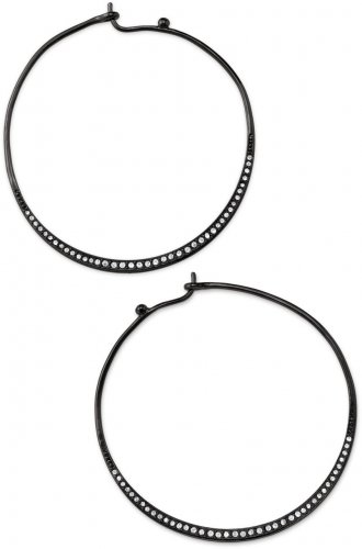 garlicfashion special elegant women fashion Heiress black Hoops