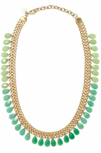 garlicfashion special elegant women fashion Contessa Jade necklace