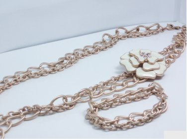 garlicfashion special elegant women fashion LA COCO BROOCH Necklace bracelet brooch set