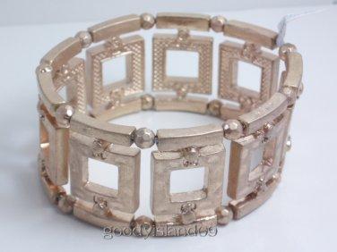 garlicfashion DIY handmade women fashion Crete gold elastic bracelet